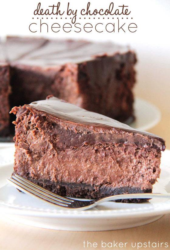 death by chocolate cheesecake