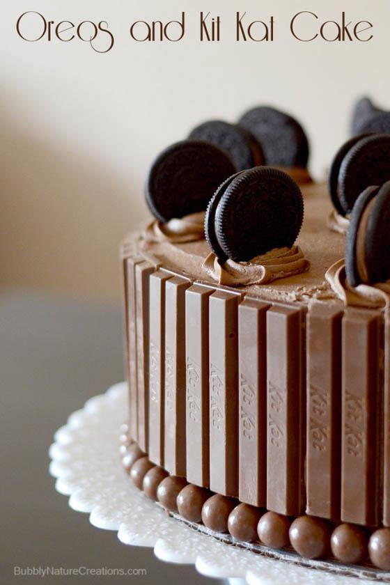Oreos and Kit Kat Cake!