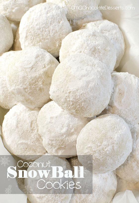 Christmas Coconut Snowball