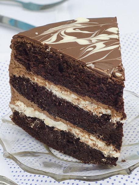 Tuxedo Cake Omg Chocolate Desserts