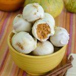 Photo of White Chocolate Pumpkin Truffles