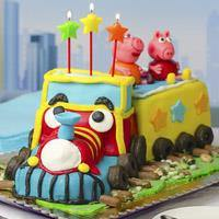Choo Choo Chocolate Birthday Cake