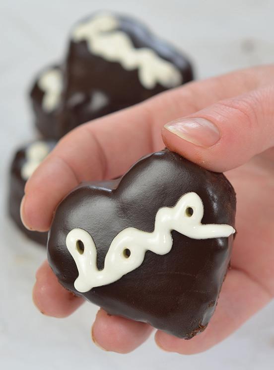 Valentine's Chocolate Hearts