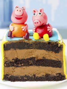 Choo Choo Chocolate Cake
