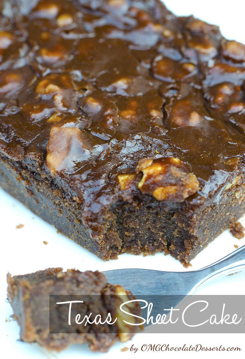 Chocolate Sheet Cake With Buttermilk