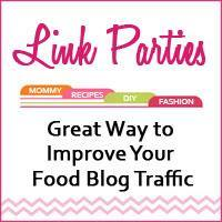 Link Parties – Great Way to Improve Your Food Blog Traffic
