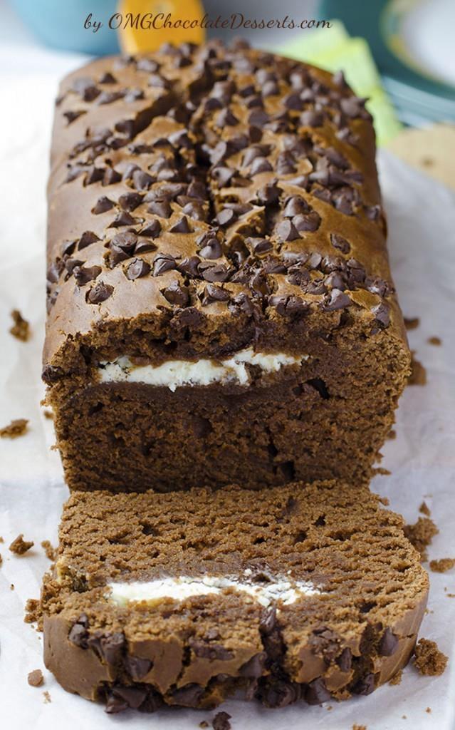 Cream Cheese Chocolate Bread
