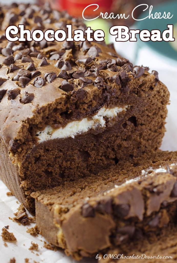 Cream Cheese Chocolate Bread | Unusual Bread Recipes You Have To Try