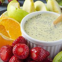 Poppy Seeds Fruit Salad