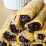 Image of stacked blueberry french toast roll ups