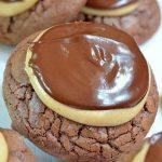 Buckey Brownie Cookies Image