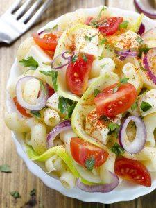 Bowl of Garden Summer Salad