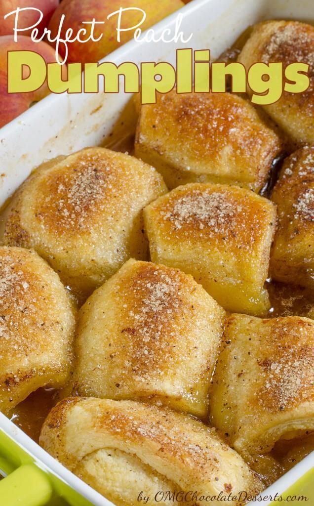 Peach Dumplings