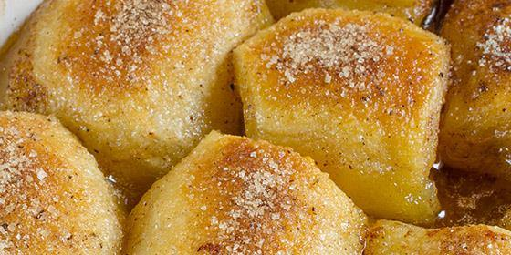 Back to my best recipes - Perfect Peach Dumplings