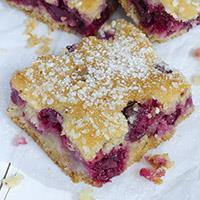 Easy Cherry Bars