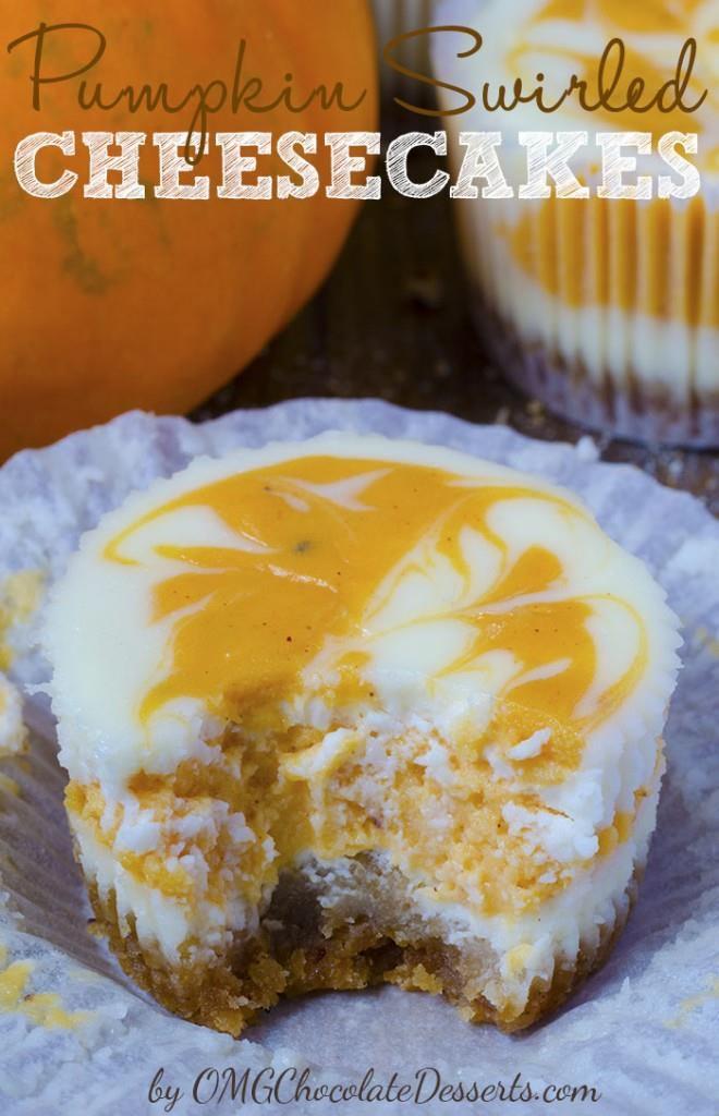 Download image Mini Pumpkin Swirl Cheesecake Recipes PC, Android ...
