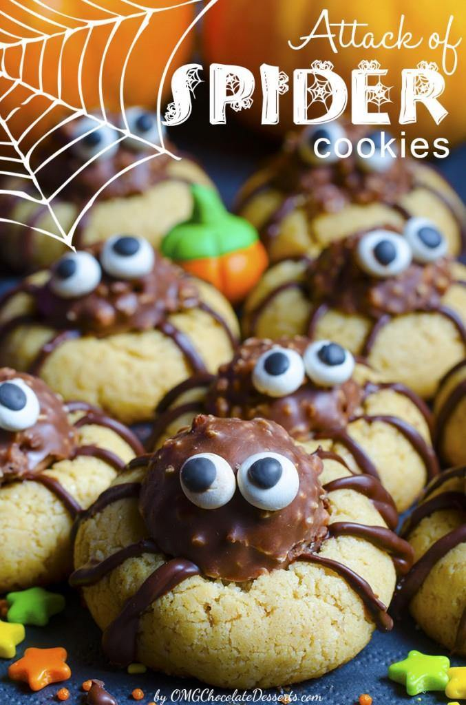 Spooky Spider Cookies Recipes — Dishmaps