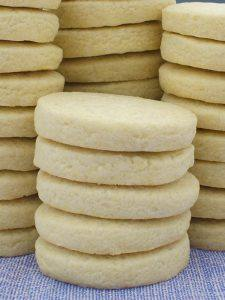 Stacks of Basic Sugar Cookies