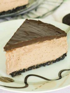 No Bake Nuttela Cheesecake