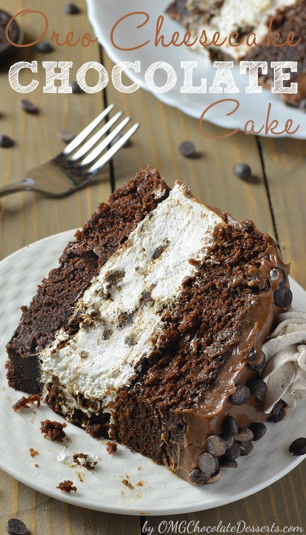 Oreo Chocolate Cake Recipe - OMG
