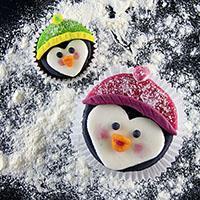 Penguine Cupcakes