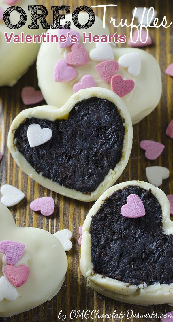 Oreo Truffles Valentine's Hearts OMG Chocolate Desserts Mesmerizing How To Decorate Oreo Balls