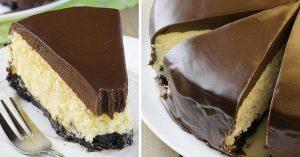 Extra decadent Baileys Cheesecake is the perfect grown-up dessert. Smooth and creamy with a delicious Irish cream flavor
