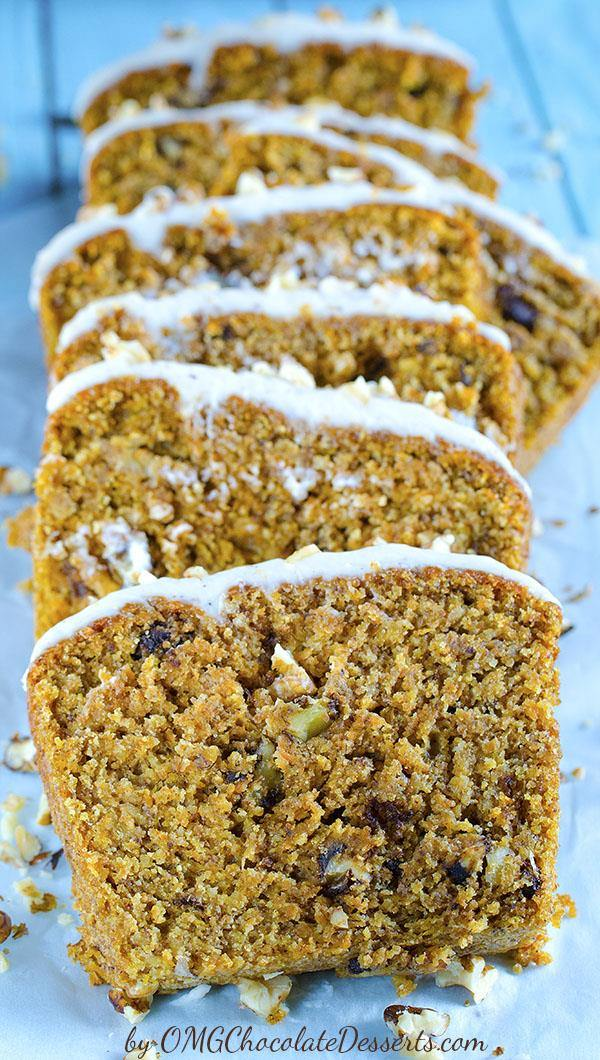 "This Carrot Cake Banana bread is melt-in-your-mouth-moist and flavorful and you couldn't even tell there were carrots in it. Whole wheat bread with banana, carrots and nuts is a real energetic bomb and a great excuse to have a ""cake"" of a breakfast"