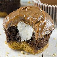 Hershey S'mores Cupcakes