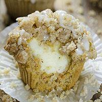 Carrot Cake Muffins Recipe With Cheescake Fillings