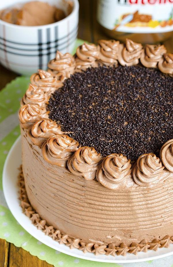 Chocolate Cake With Cinnamon Frosting