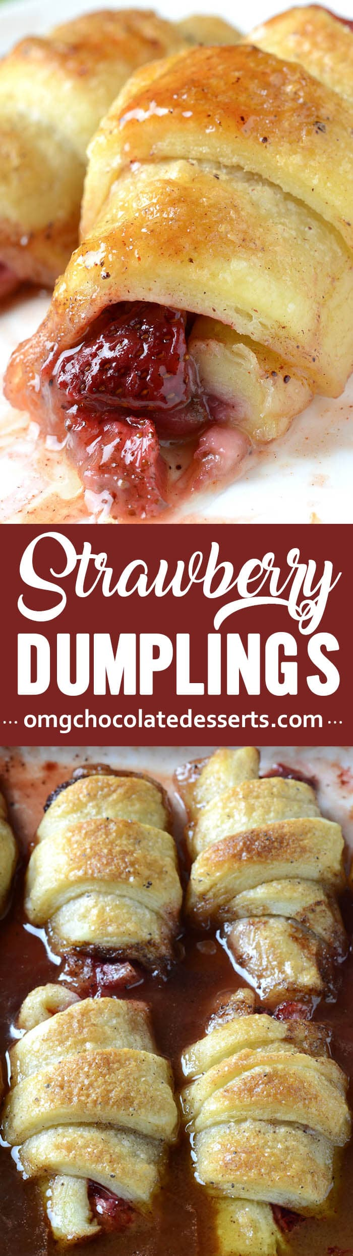 If you share my love for anything made with strawberries, then these strawberry dumplings are exactly what you need to try.