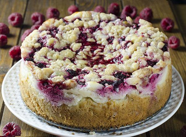 Raspberry Cream Cheese Coffee Cake - Chocolate Dessert Recipes - OMG ...
