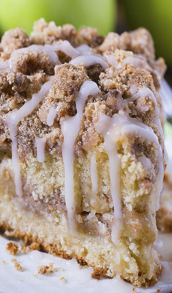 Coffee Crumb Cake In Bundt Pan