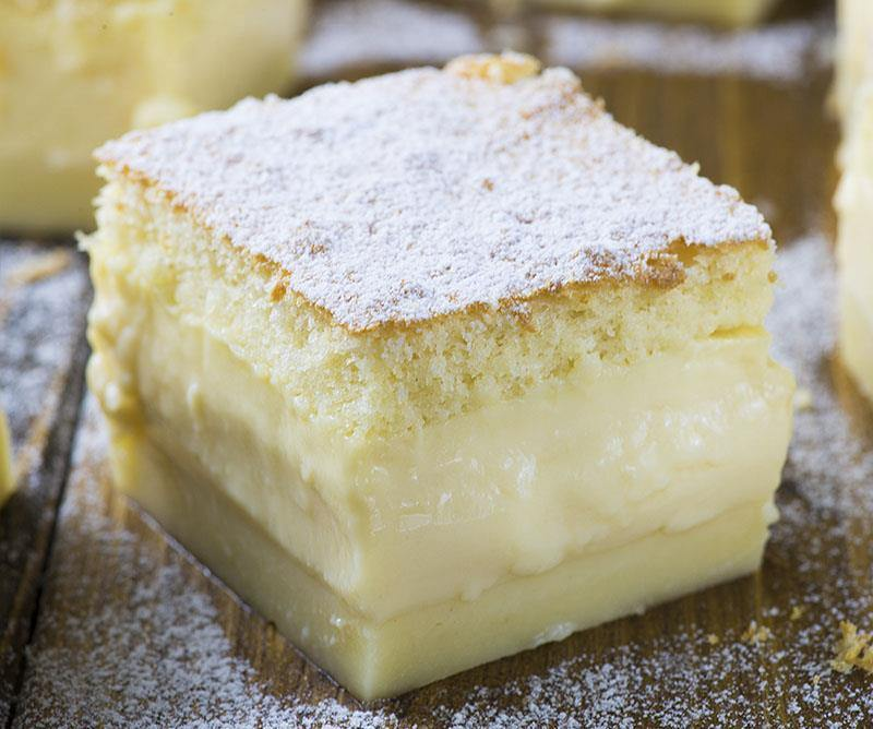 Recipes custard cake