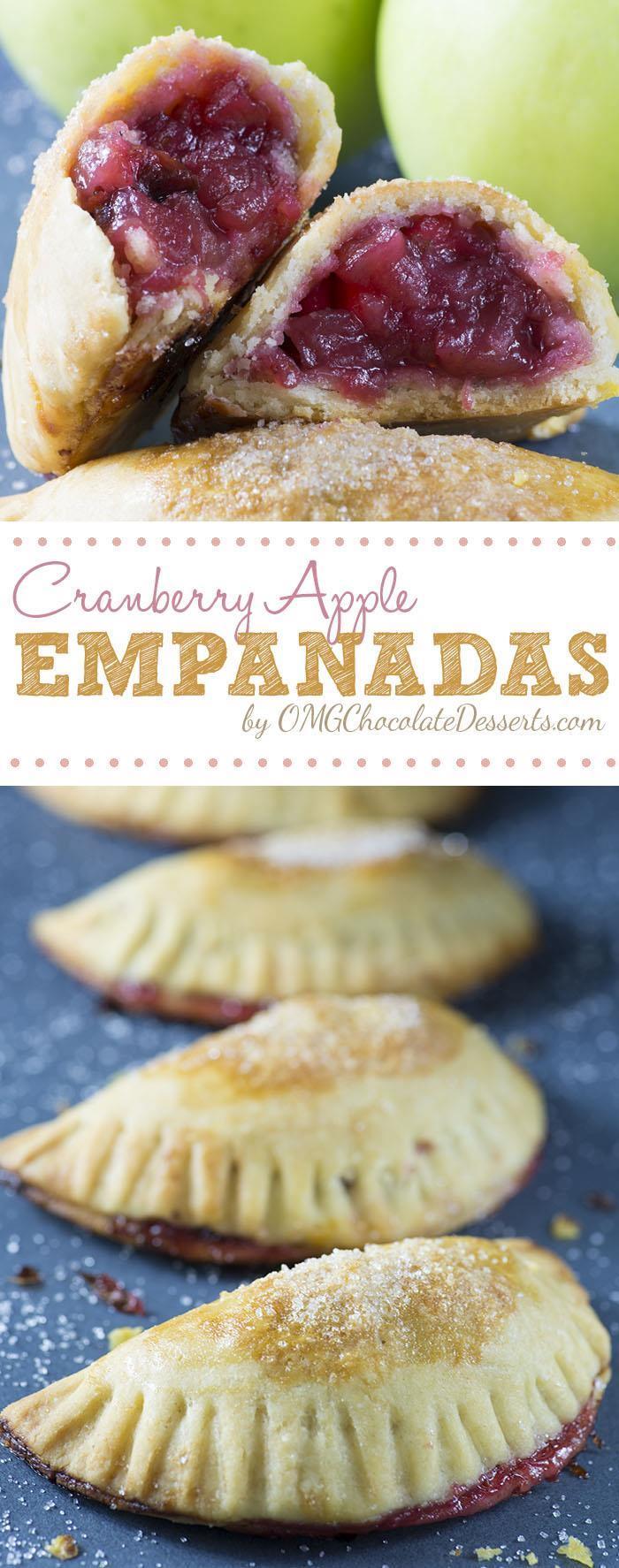 Cranberry Apple Empanadas
