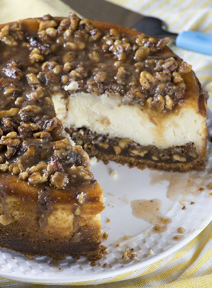 ... cheesecake, your Pecan Pie Cheesecake could become the ideal