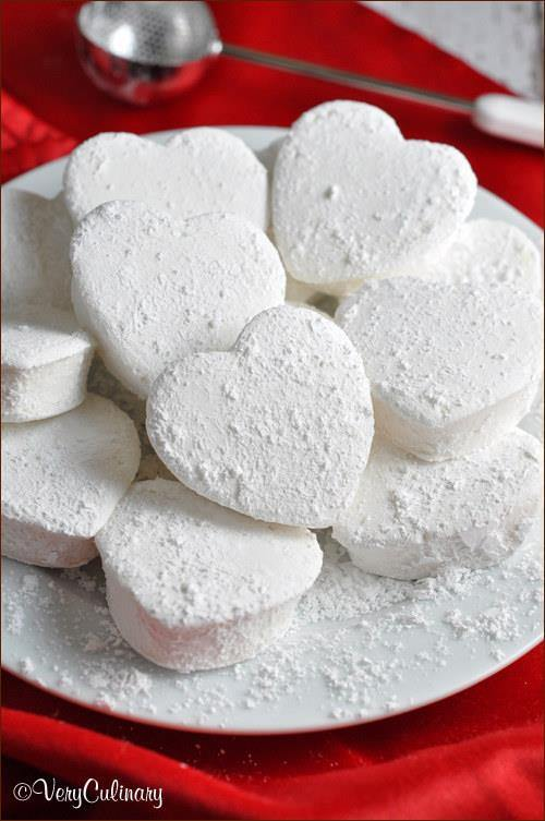 Homemade Heart Marshmallow