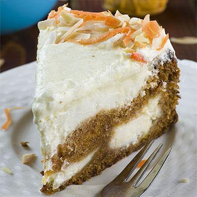 Carrot Cake Cheesecake (Easter version)