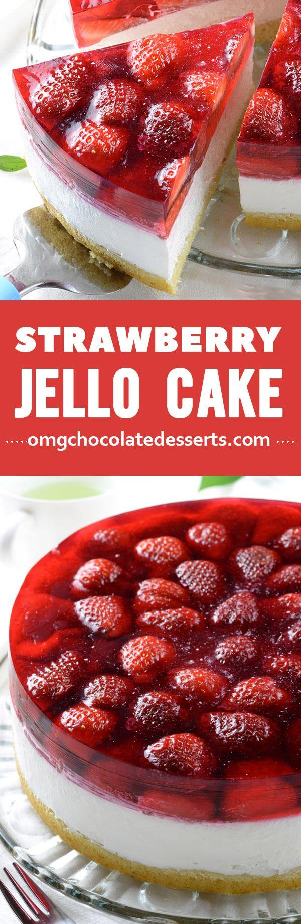 Angel Food Cake With Jello Inside