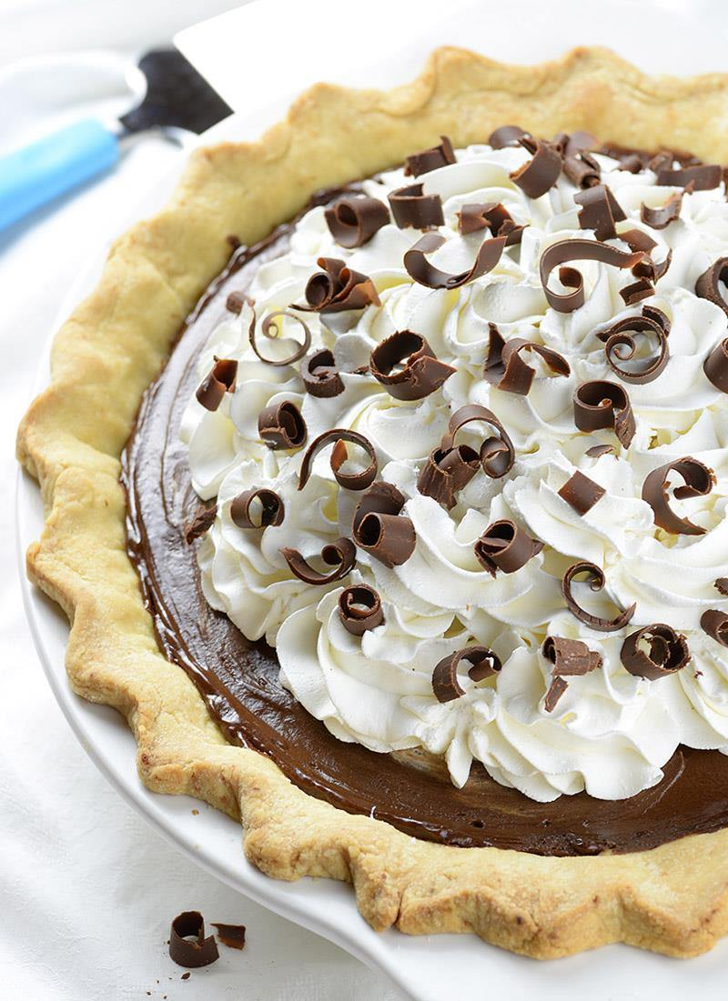 Old Fashioned French Silk Pie