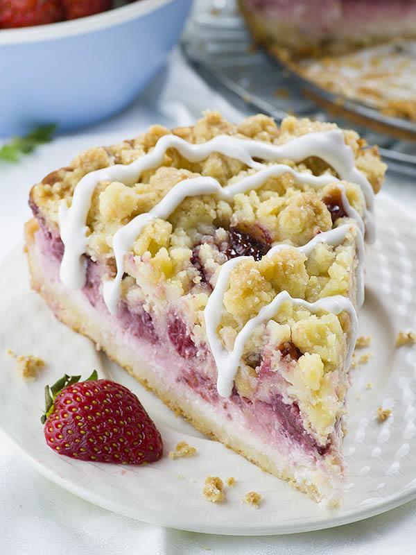 Strawberry Cheesecake Coffee Cake A Multi Layer Coffee