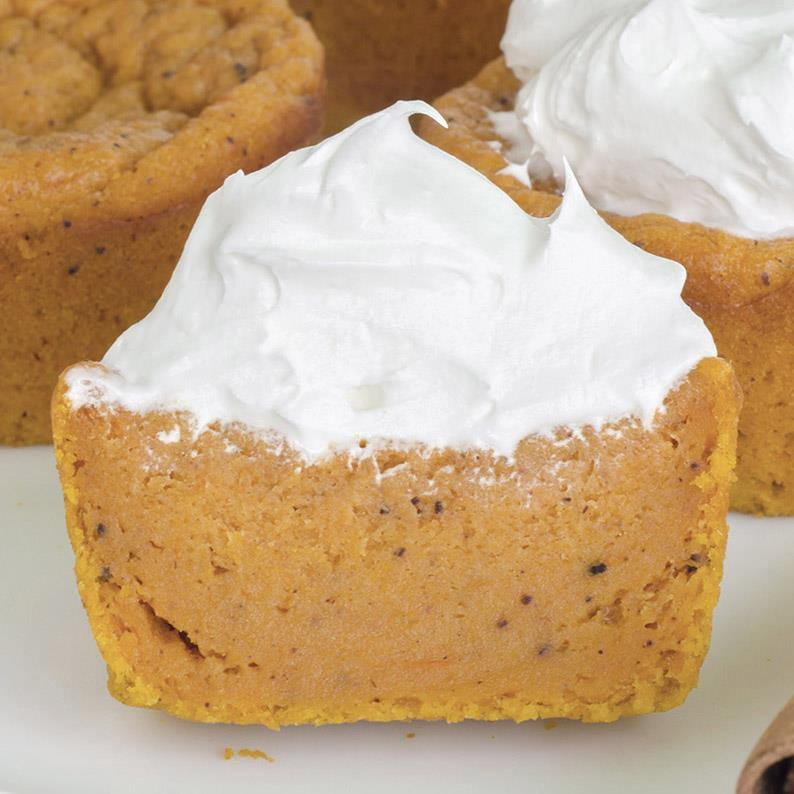 OMG Pumpkin Pie Cupcakes (Video) + Pumpkin Puree
