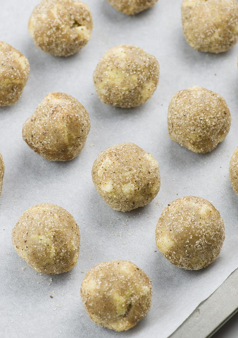 White Chocolate Apple Snickerdoodles Step -- 2