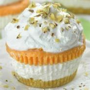 Pumpkin Lasagna Cupcakes