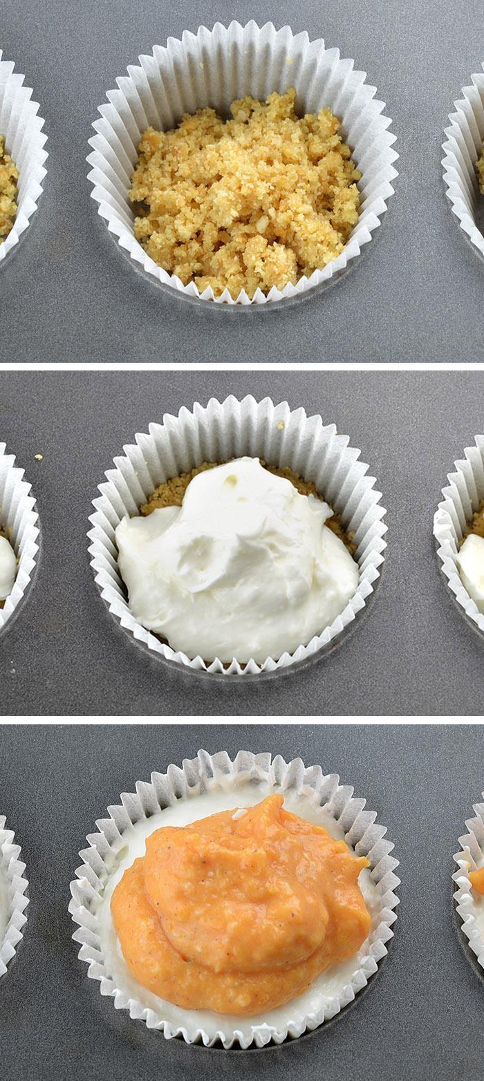 Pumpkin Lasagna Cupcakes – individual portion of DELICIOUS and EASY, NO BAKE PUMPKIN DESSERT!