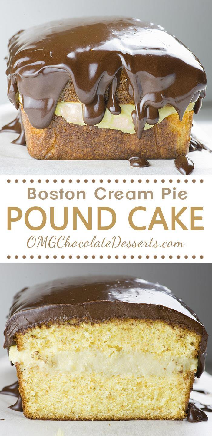 Boston Cream Pie Layer Cake