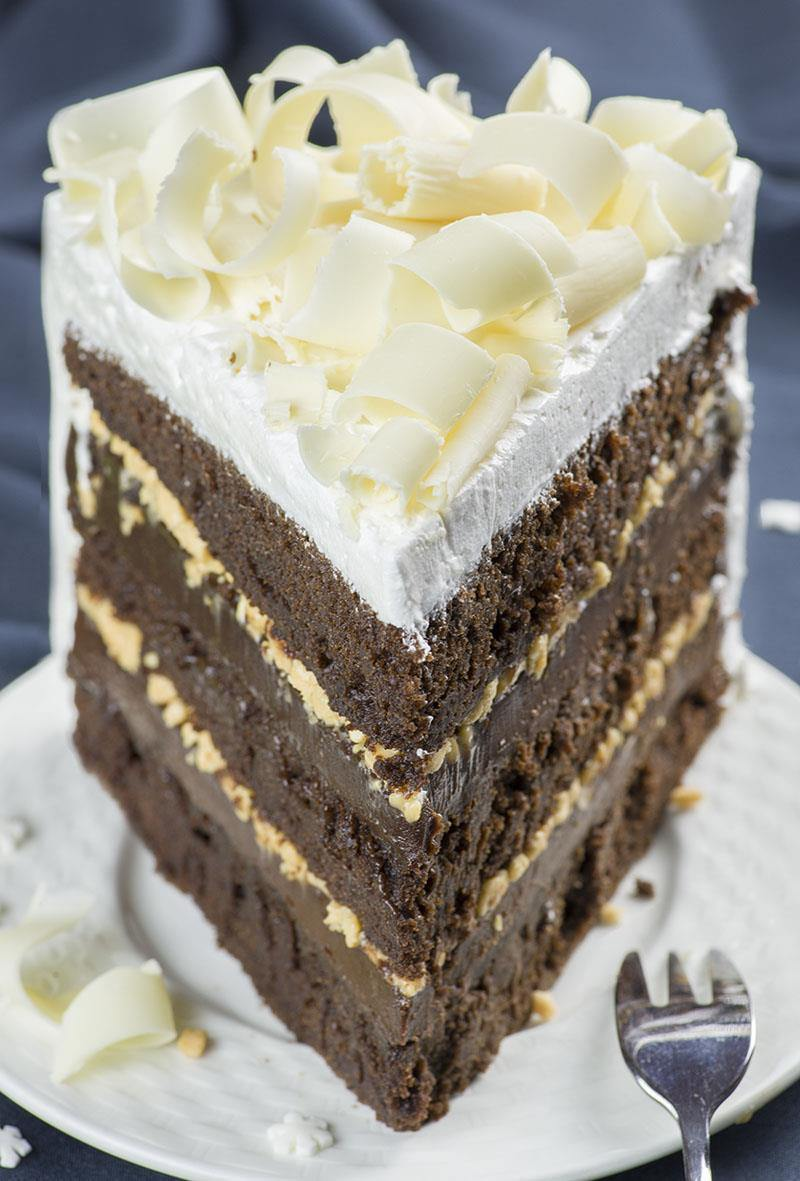 Needless To Say This Christmas Chocolate Toffee Cake Is A Lover S Dream And Fancy