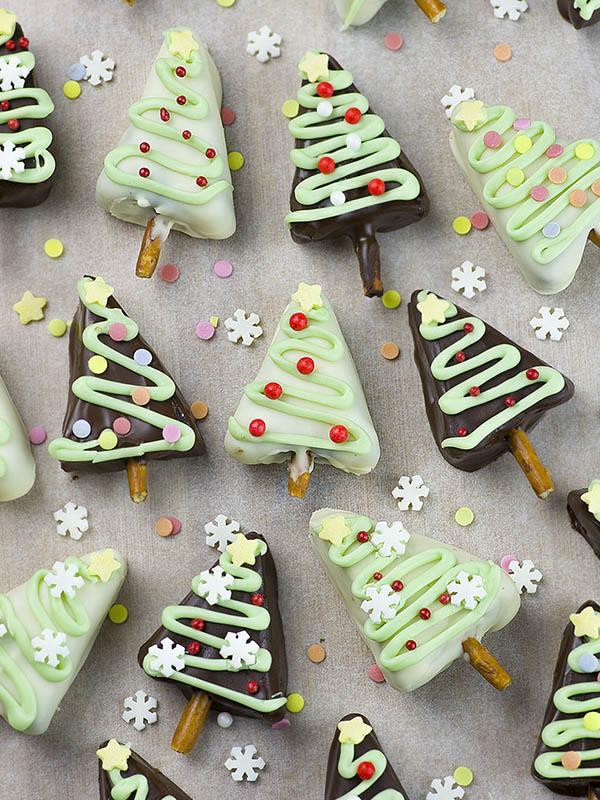 Christmas Tree Oreo Truffles No Bake Oreo Dessert Recipe