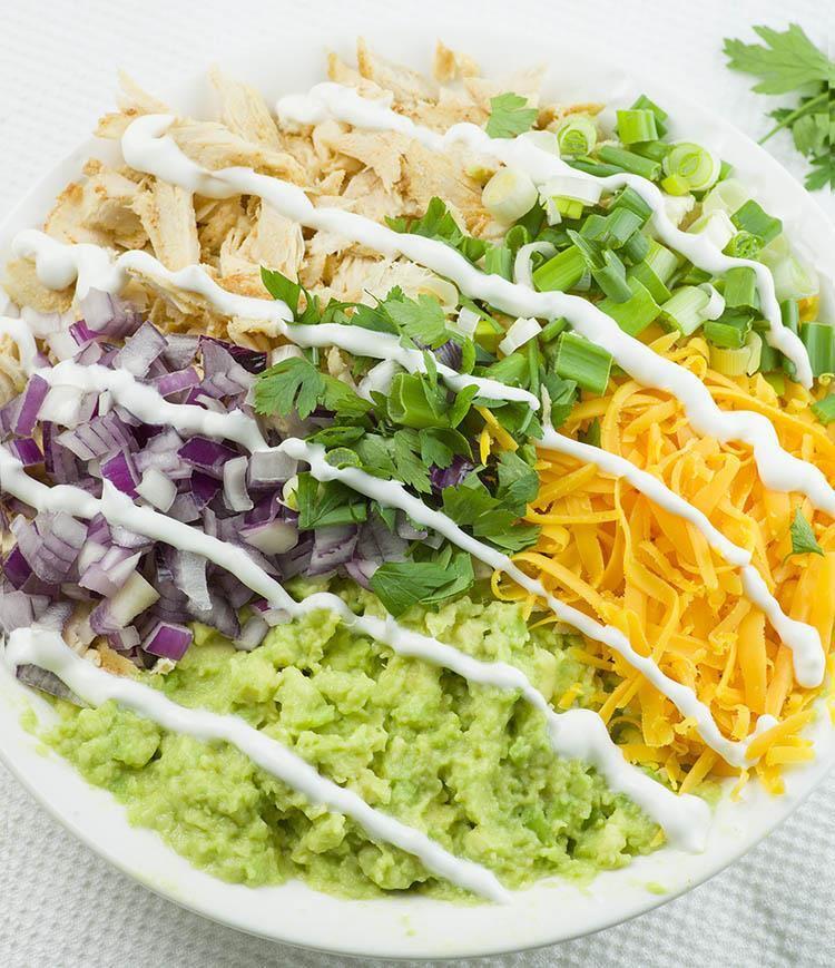 Chicken Avocado Salad Rollups Ingredient 1